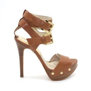 Michael Kors Strappy Sandal Buckle Heels 6